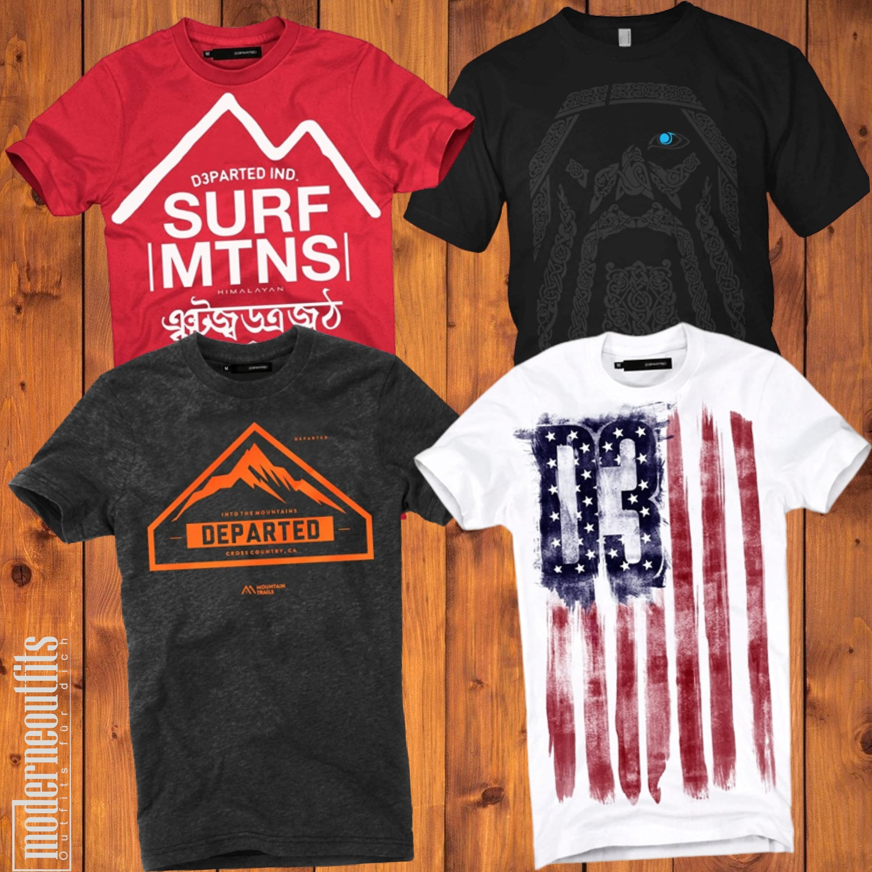 Coole Sommer T-Shirts für Männeroutfits