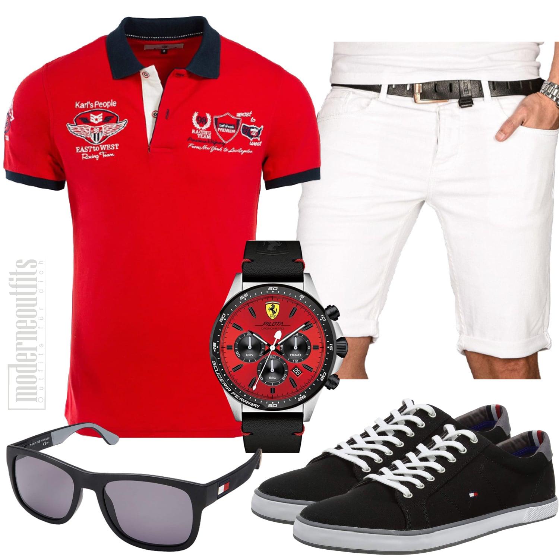 Männer Outfit Sportlich Elegant mit Sneakers